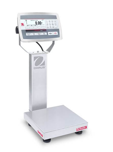 60kg 230V; Ohaus D32XW60VLAC Defender 3000 Washdown Industrial Scale