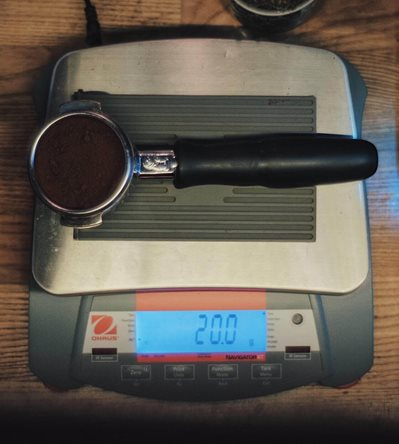 Coffee Weighing
